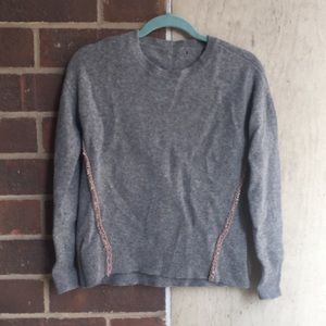 JCrew gray wool sweater. Size S